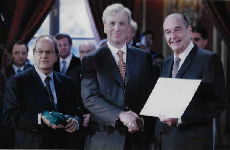 Rencontre avec Jacques Chirac